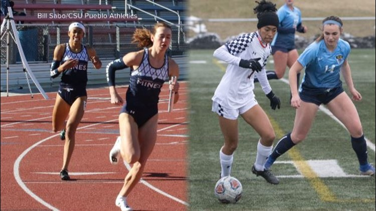 Mines student-athlete participates in two sports concurrently for first time in decades
