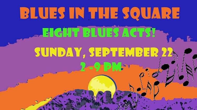 Fort Collins Blues Society Blues in the Square 2019