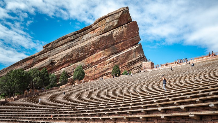 You can now get your vaccine at a Red Rocks concert