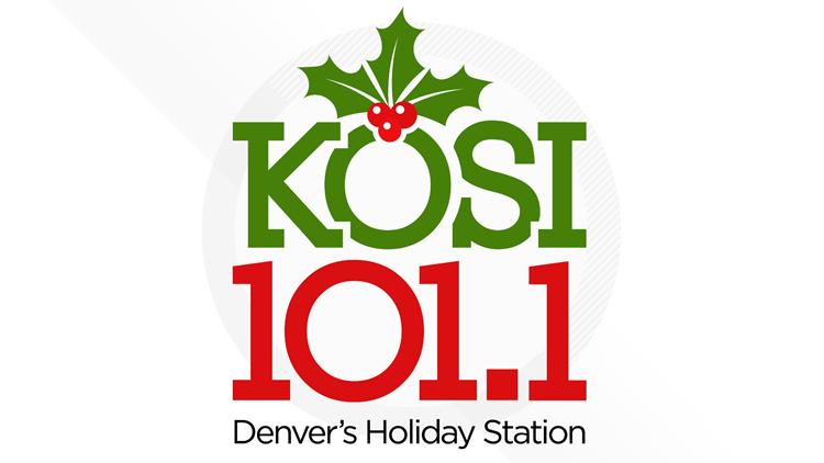 KOSI 101.1 Denver's Holiday Station
