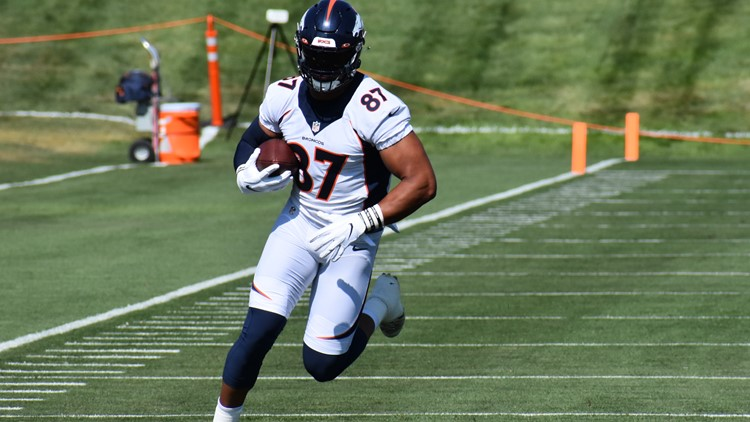 Bronco notes: Grieving Noah Fant thankful for team support