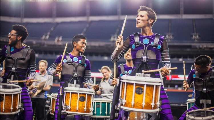 """Blue Knights Drum Corps and its major fundraiser, """"Drums Along the Rockies"""""""