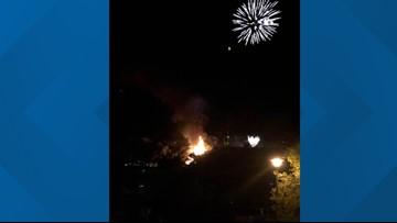 Palisade Peach Festival fireworks spark wildfire