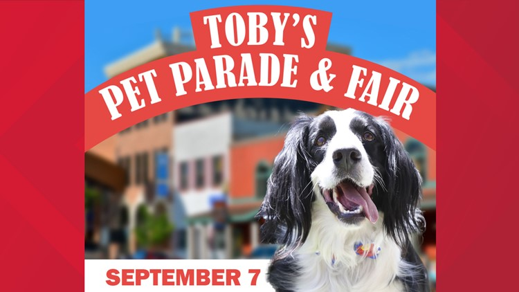 Meet Toby, the Inspiration Behind Toby's Pet Parade & Fair