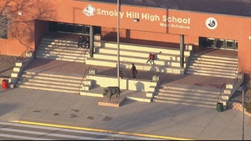 Student taken into custody after gun brought to Smoky Hill HS