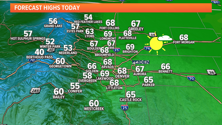 Cool 60s for last day of Summer, sunny and warmer first day of Fall