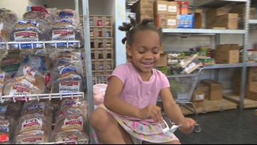 Local food bank helping hundreds of families