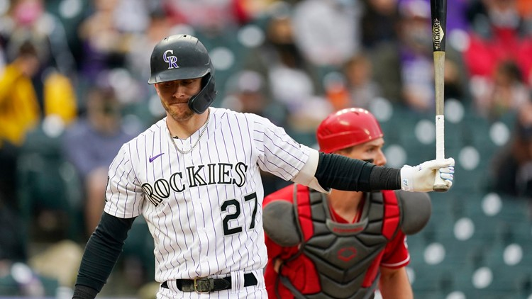 Nunez passed ball, Sheffield wild pitch gift Reds 7-6 win over Rockies