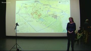 Officials hold public meeting for Decker Fire update