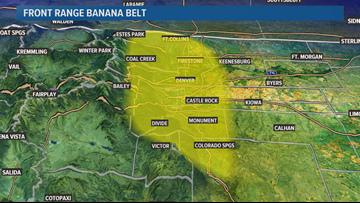 Does Colorado have a Banana Belt?