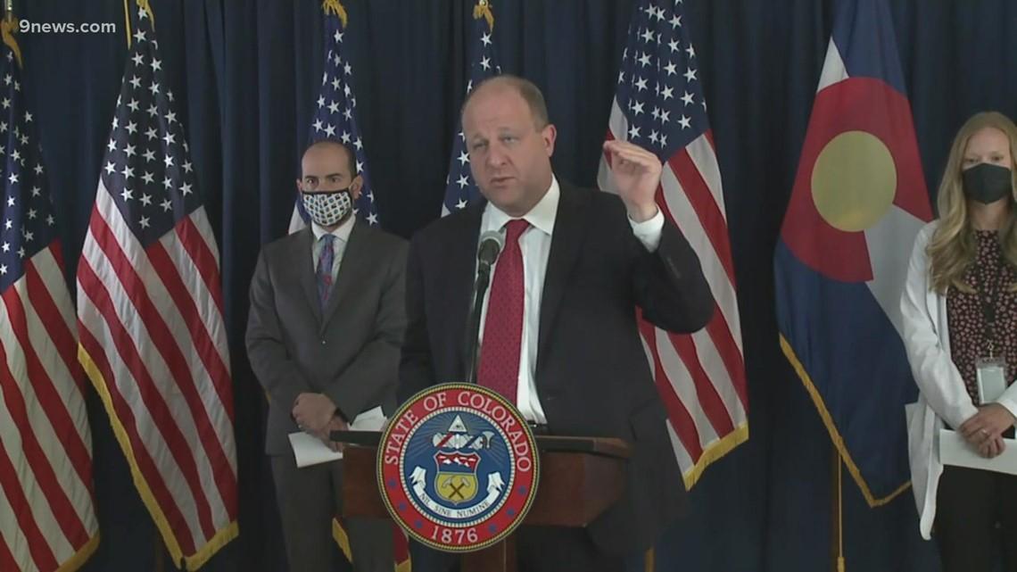 Polis dice que el estado está listo para el lanzamiento de la campaña de refuerzo