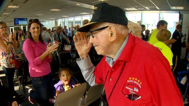 Help send Colorado veterans on an honor flight to Washington, D.C.
