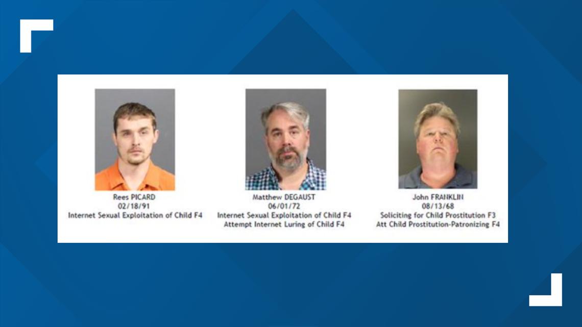 Operation Broken Heart suspects
