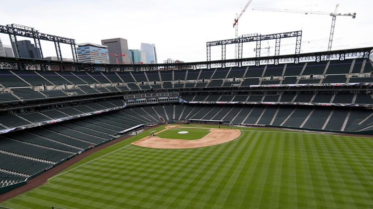 Pretty Coors field April 4 2019