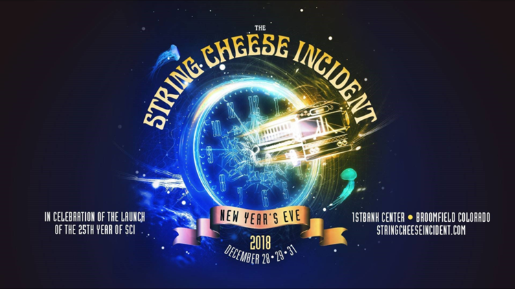 The String Cheese Incident‎ 2018