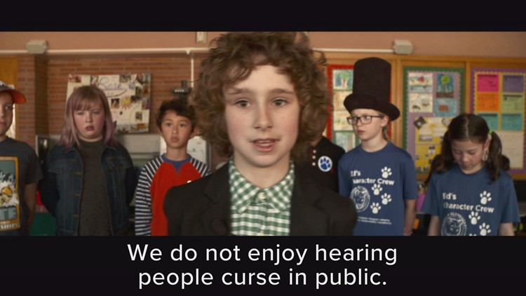These 4th graders want you to stop cussing.