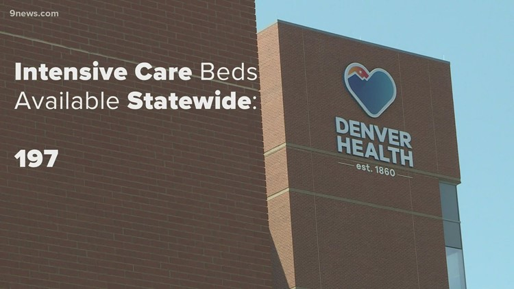 Colorado has fewer than 200 ICU beds available, surge plans going into effect