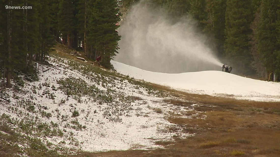 Colorado ski resorts ramping up snowmaking operations