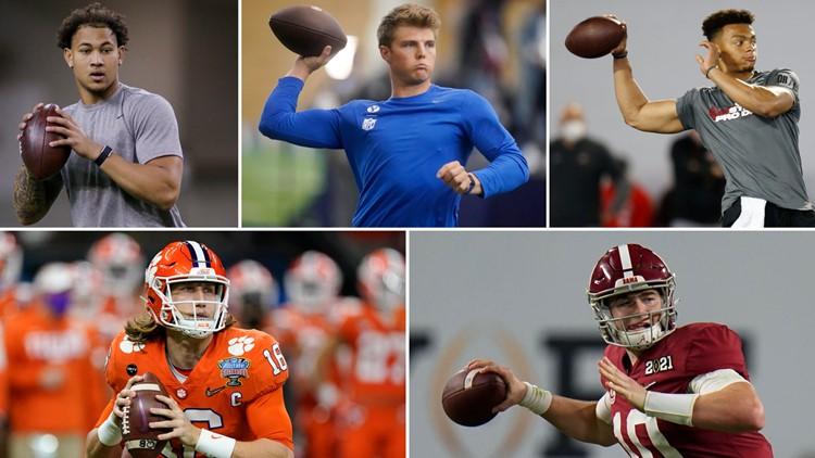 A closer look at the Big 5 quarterbacks in 2021 draft