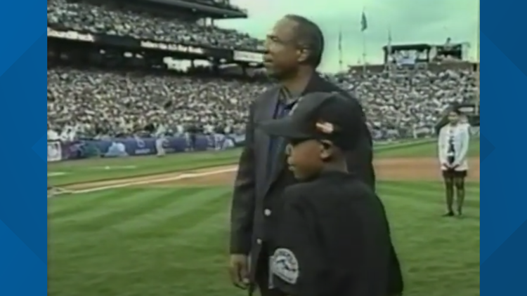 Kid who threw first pitch at 1998 All-Star game is all grown up