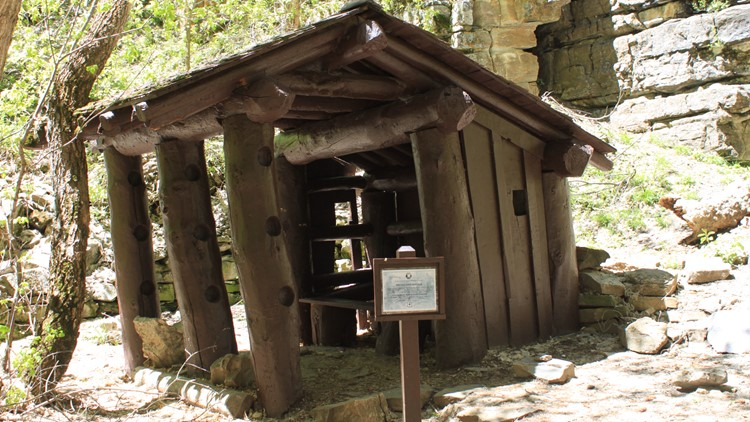 Shelter on trail