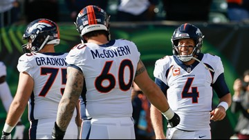 Connor McGovern has grown to take-charge leader of Broncos' offensive line
