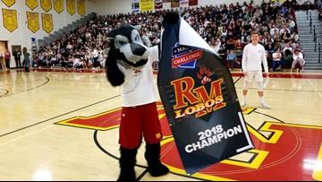 Rocky Mountain presented Mascot Challenge championship banner