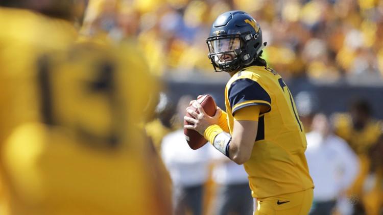 East Carolina West Virginia Football Will Grier
