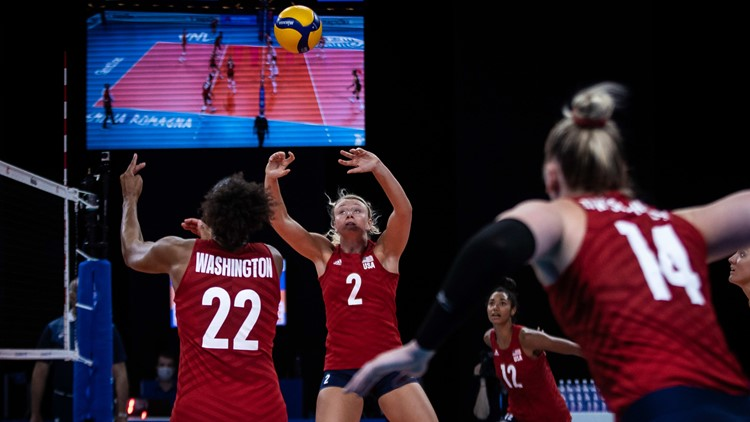 Olympic-bound Poulter shares bond with DU volleyball sister
