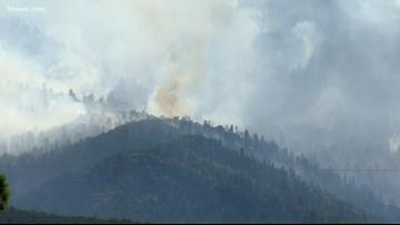 Decker Fire reaches 30%  containment, has burned 8,570 acres