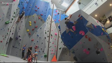Team USA Climbers training for Olympic debut
