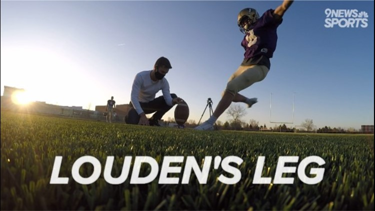 Fort Collins kicker Louden Harger can go the distance