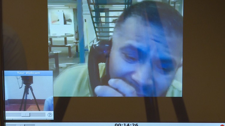RAW: Maven Hotel suspect says he was in Denver for All-Star game, had no intention to cause harm