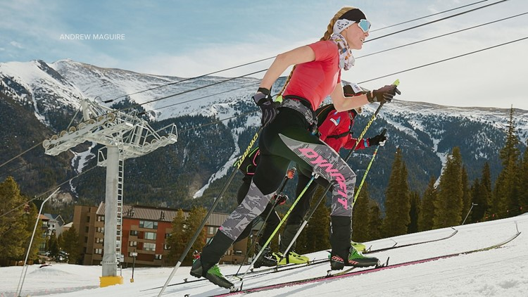 Silverthorne woman skis 56,000 vertical feet, sets record
