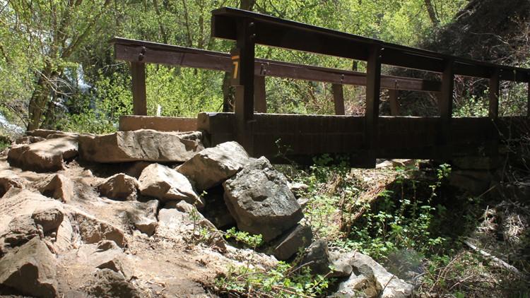 Bridge #7 on the trail to Hanging Lake