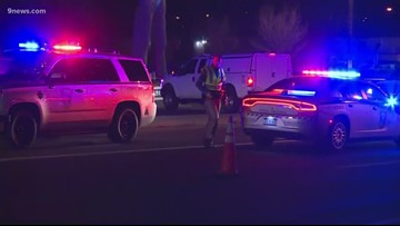 Pedestrian hit and killed by Adams County Sheriff's patrol vehicle