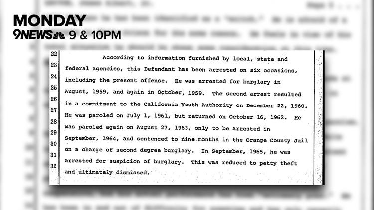 Investigation info
