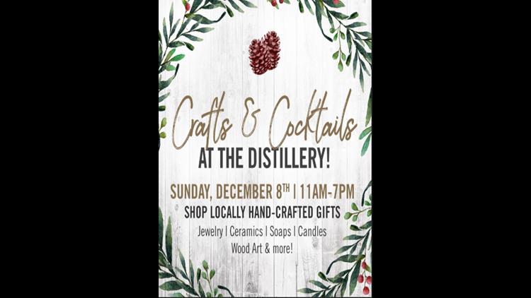 Crafts & Cocktails Invite