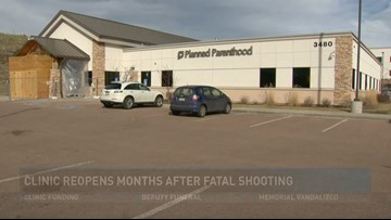 Clinic reopens months after fatal shooting