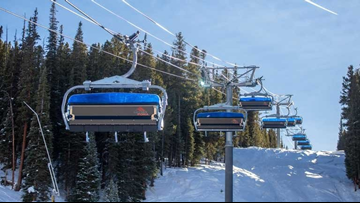 Copper Mountain's American Flyer chairlift opens