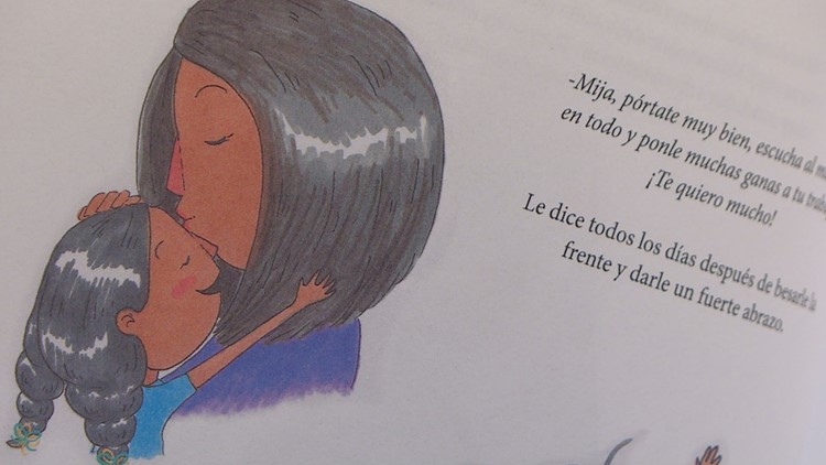 """Maria Uribe is the author of """"Todos vamos estar bien"""" or """"We're Going to be Alright."""" It's a children's book that broaches the difficult subject of deportation."""