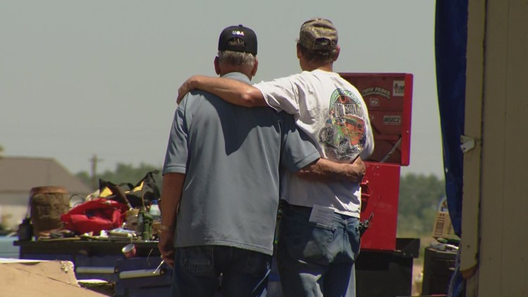 Family in Weld County loses home in tornado