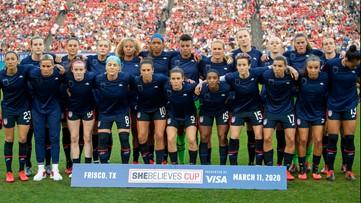 U.S. women defeat Japan 3-1 after apparent protest