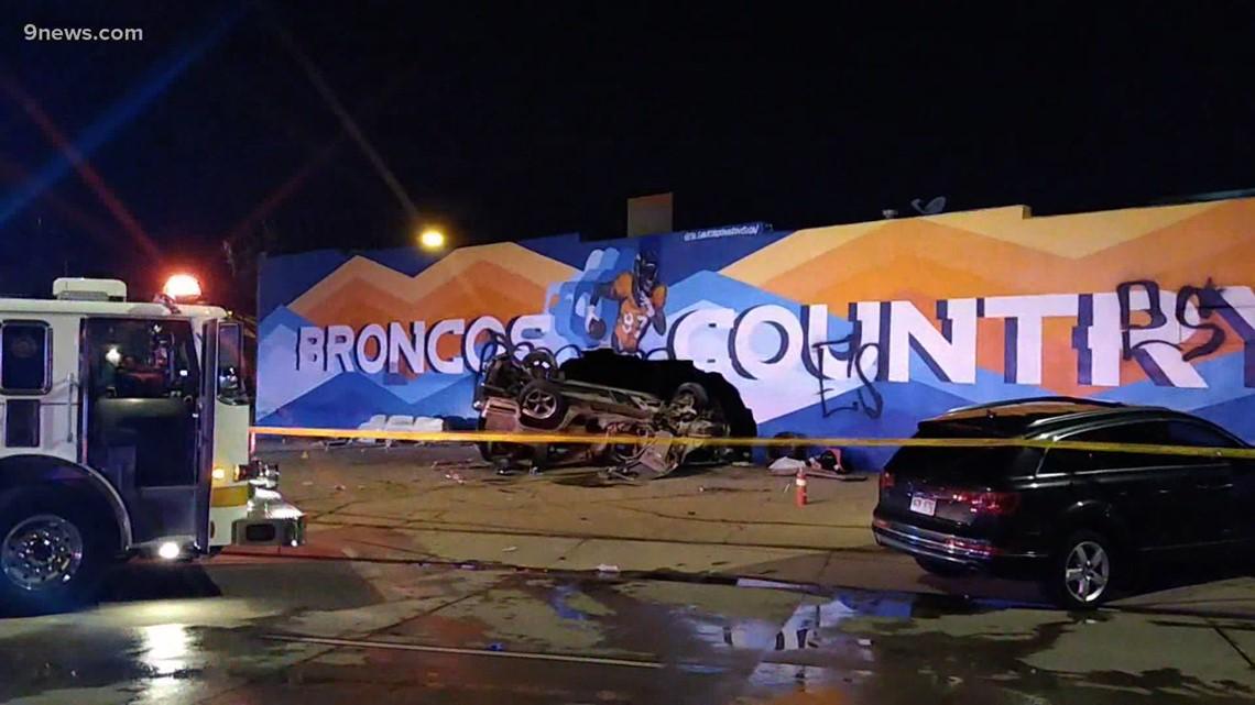 1 killed, 3 more taken to hospitals in Denver crash