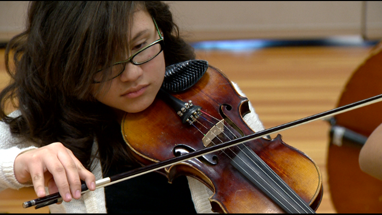 More than 80 year old violin finds new life | 9news com