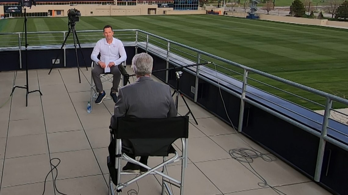 Mike Klis 1-on-1 with Broncos GM George Paton after the 2021 NFL Draft