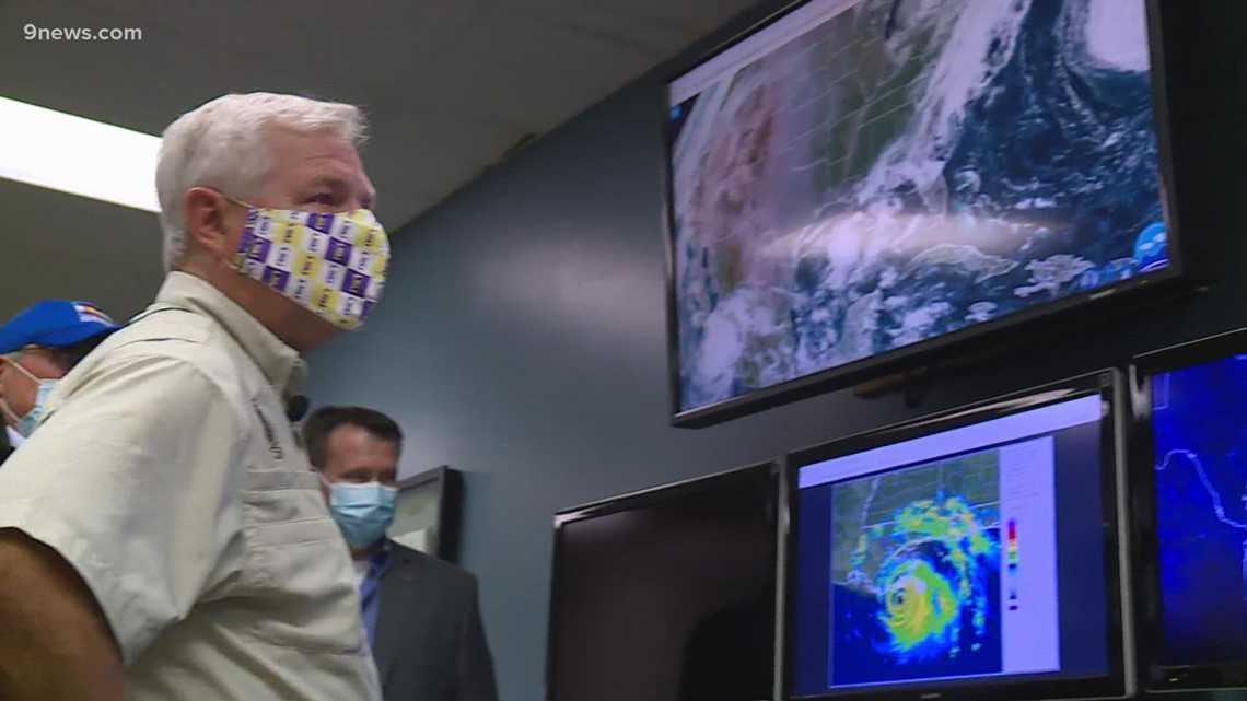 Louisiana mayor visits CSU hurricane experts to learn, better prepare for disasters