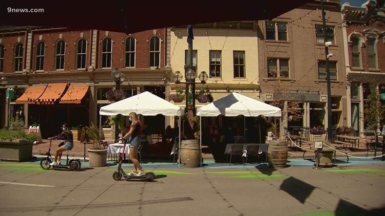 Denver will keep its outdoor dining program through at least October 2021