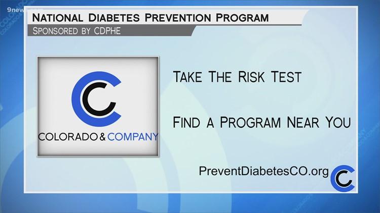 Diabetes Prevention - CDPHE - June 15, 2021