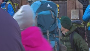 AdAmAn clubs begins 98th New Year's hike up Pikes Peak
